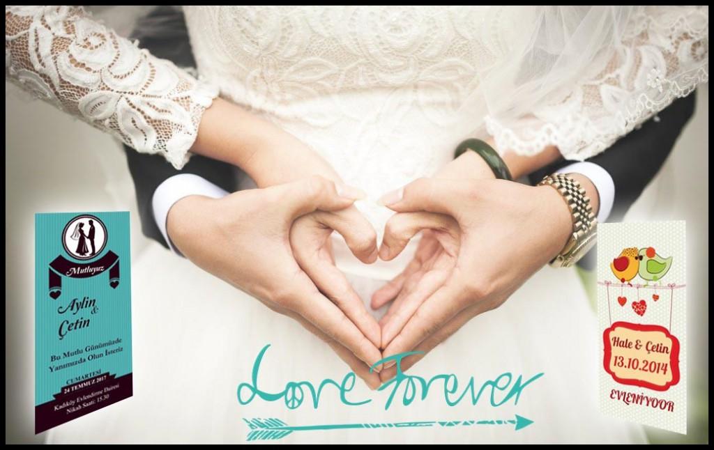 özel düğün davetiyeleri