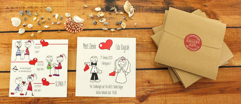 evlilik davetiyesi hazırlama