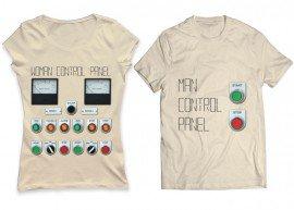 Kontrol Panel Tişört