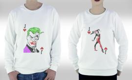 Joker Çifti Sweatshirt