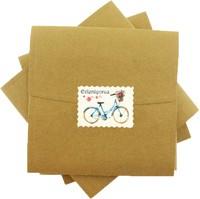 kare - Mavi Bisiklet