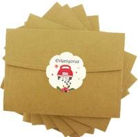 kartpostal - Kırmızı Araba