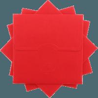 kare - Kırmızı