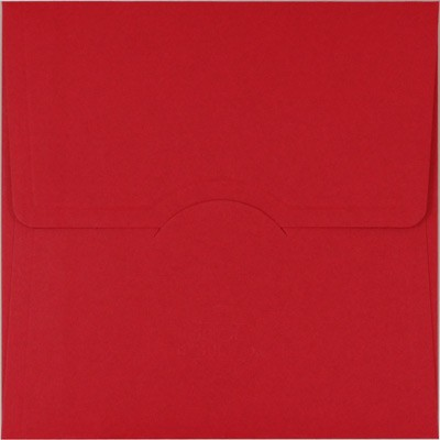 Kırmızı Davetiye Zarfları