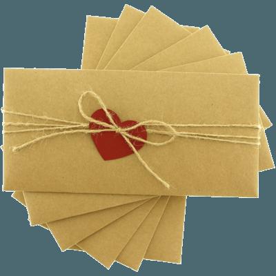 Kraft Kalpli Davetiye Zarfı zarf