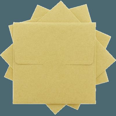 Kraft Davetiye Zarfları