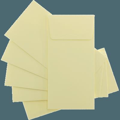 Krem Davetiye Zarfları