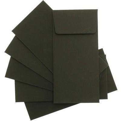 Siyah Lüks Davetiye Zarfları zarf