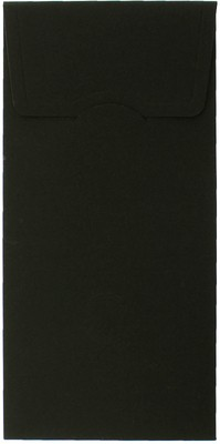 Lüks Siyah Davetiye Zarfı