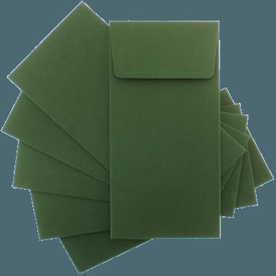 Yeşil Davetiye Zarfları zarf