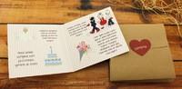 Bir Evlilik Projesi düğün davetiyesi