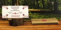 Çiçek Bahçesi düğün davetiyesi