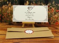 Asil düğün davetiyesi