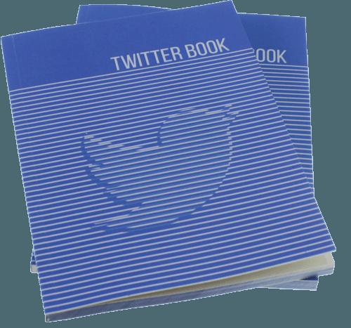 Twitter Kitabı örnek sayfalar