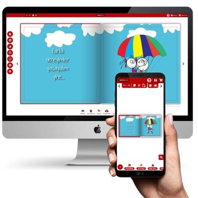Online Kapak Tasarla - Anı Defteri Yap
