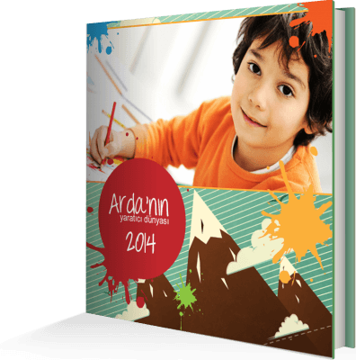 Çocuk Sanat Kitabı | Çocuk Anı Kitabı | Çocuk Foto Kitap | Çocuk Fotoğraf Albümü